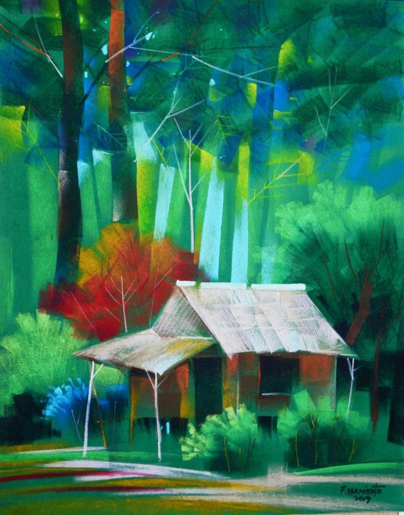 Fidel Sarmiento Pastel Collection - macuha-artgallery.com