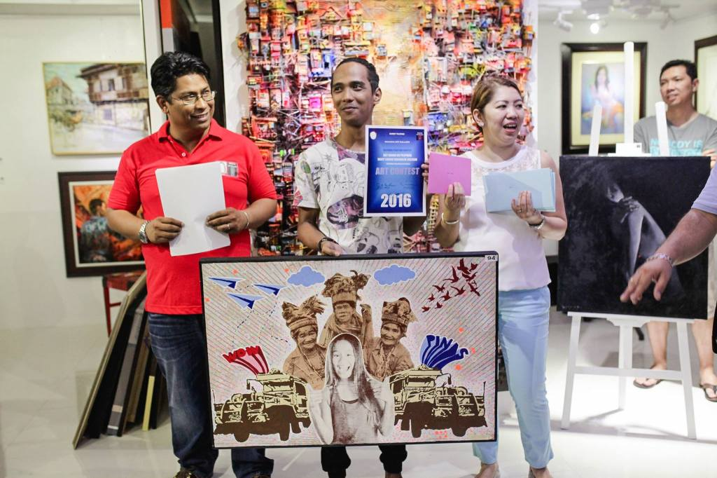 Juror's Choice - Froilan Pastrana - Malabon - Kay Ganda ng Pilipinas Painting Contest