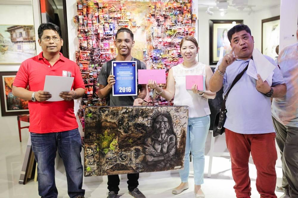 Juror's Choice - Macj Turla - Manila - Kay Ganda ng Pilipinas Painting Contest