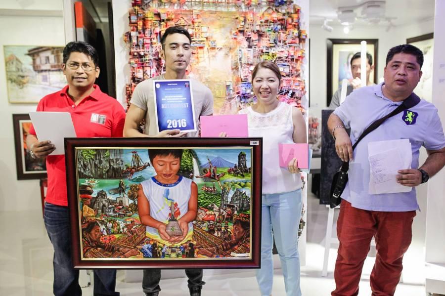 Juror's Choice - Micko Macariola - Quezon City - Kay Ganda ng Pilipinas Painting Contest