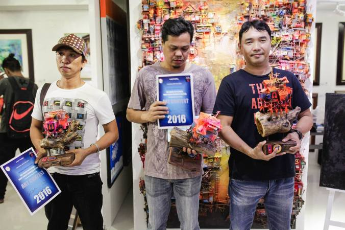 The Winner - Kay Ganda ng Pilipinas Painting Contest