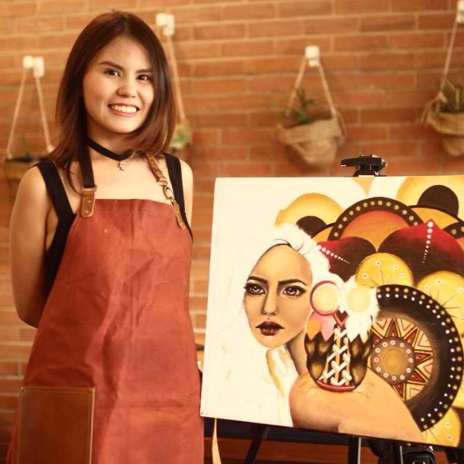 ART BY PAOLA SANTIAGO CLARITO credit to Louie Poco of Gouache
