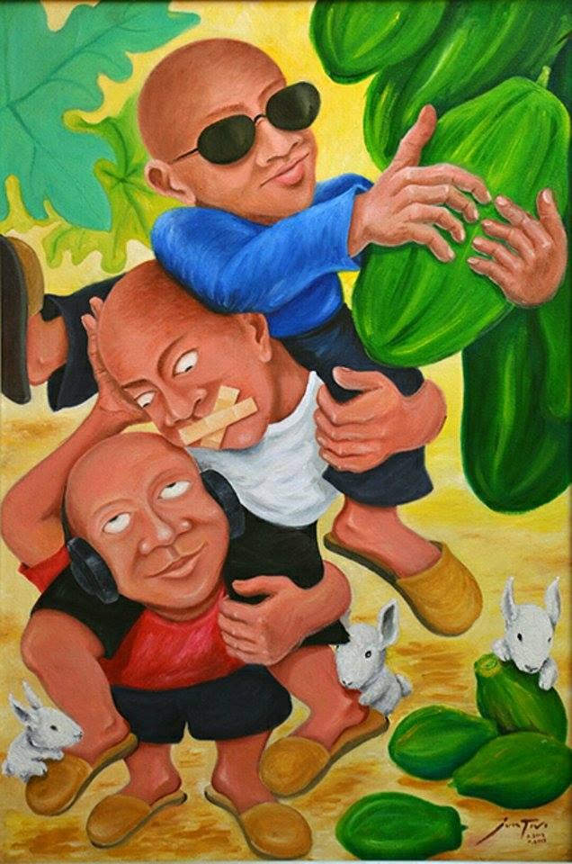 Jun Tivi Galerie De Las Islas presents SINCO BICOLANOS Artist (6)
