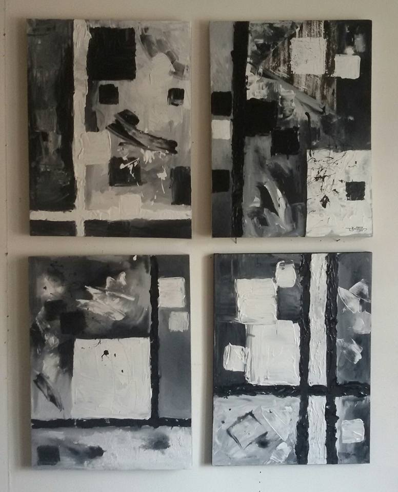 Roderick Imperio Artwork DAYDREAM Series Painting Acrylic on Canvas Galerie De Las Islas presents SINCO BICOLANOS Artist