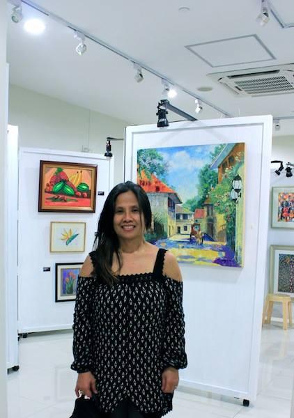 #LornaMaza #FineArt Beautiful Islad of the #Philipines www.jennysserendipity.com #Art #ArtPh #FilipinaArtist #Acrylic #AcryliconCanvas